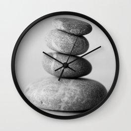Zen Pebbles - JUSTART (c) Wall Clock