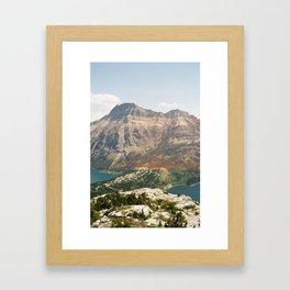 Mountain Views Framed Art Print