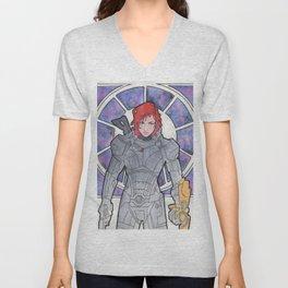 Commander Shepard Unisex V-Neck