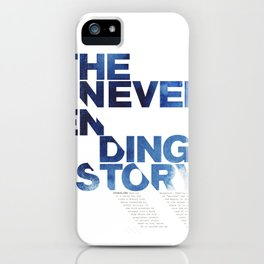 The neverending story iPhone Case