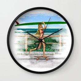 Soft Ride Wall Clock
