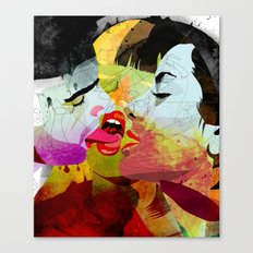 kiss02 Canvas Print
