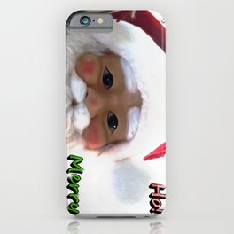 Merry Christmas Santa Clause iPhone Case