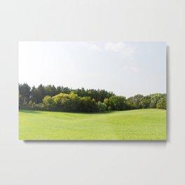 Rolling Hills - Midwest Landscape Photography Metal Print