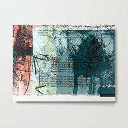 misprint 3 Metal Print