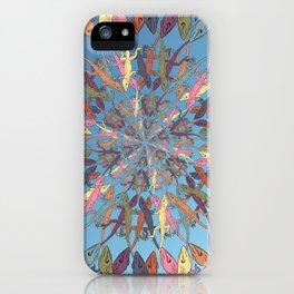 Lizard Snowflake iPhone Case