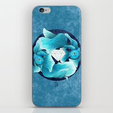 underwater guardians - fishes iPhone & iPod Skin