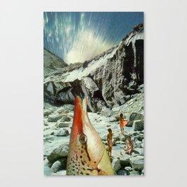 Splurge Canvas Print
