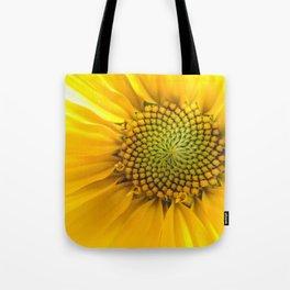sunflower light Tote Bag