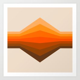 Golden Corner Art Print