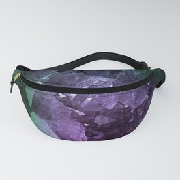 Crystal Geode Fanny Pack