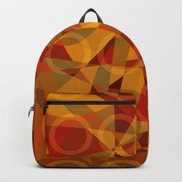 Círculos cálidos · Glojag Backpack