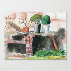 Projects Canvas Print