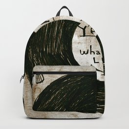 you are what you listen to, GRUNGE Backpack