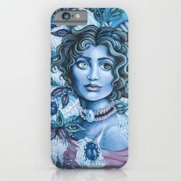 Blue Heterochromia iPhone Case