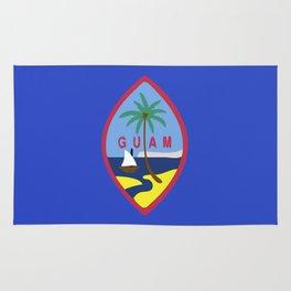 Guam flag emblem Rug