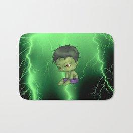 Chibi Hulk Bath Mat