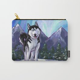 Animal Parade Husky Carry-All Pouch