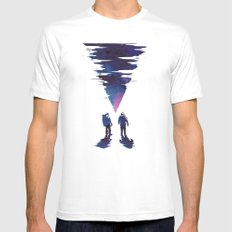 The Thing White MEDIUM Mens Fitted Tee