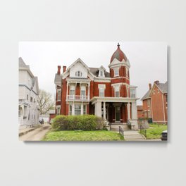 Historic Rosenberger House Metal Print