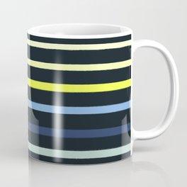 Classic Stripe - Navy, Neon, Fluro, Blue, Girly Trendy Cell Phone Case Coffee Mug