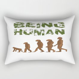 Being Human - Devolution Rectangular Pillow