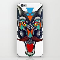 panther iPhone & iPod Skins featuring panther by Ronan Holdsworth