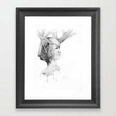 Sweet memories Framed Art Print