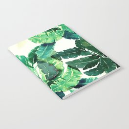 Natural leaves Notebook