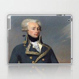 Portrait of Lafayette by Joseph désiré Court Laptop & iPad Skin
