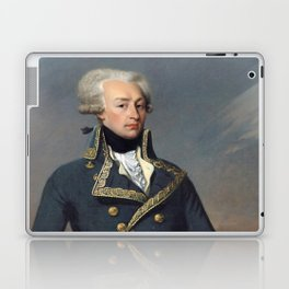 Portrait of Lafayette by Joseph désiré Court Laptop & iPad Skin