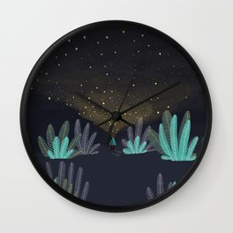 One million little lights for a million dreams Wall Clock