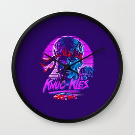 Knuc kles Wall Clock