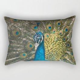 Paon coloré Rectangular Pillow