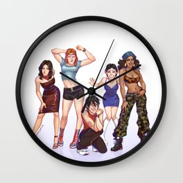 Kirkwall Girls Wall Clock