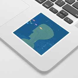 fishhead Sticker