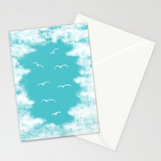 Seabirds and Clouds Stationery Cards