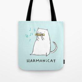 Harmonicat Tote Bag