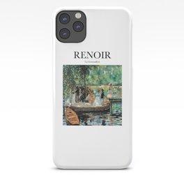 Renoir - La Grenouillère iPhone Case