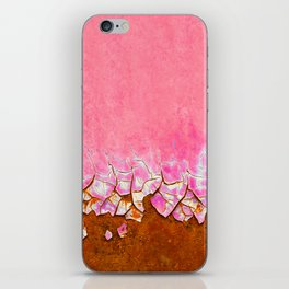 Pink and Rust iPhone Skin