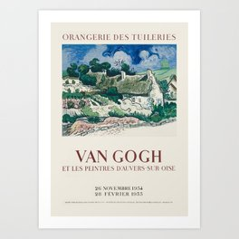 Vincent van Gogh - Exhibition poster Art Print