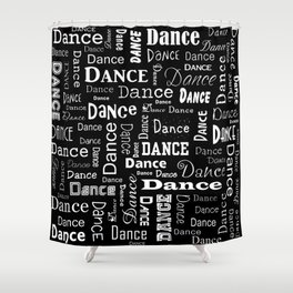 Just Dance! Shower Curtain