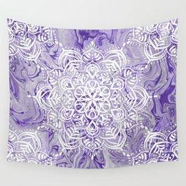 Marble Mandala Twist XI Wall Tapestry