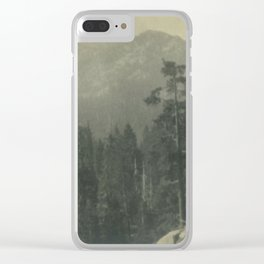 Lake Tahoe adventure Clear iPhone Case