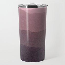 gradient landscape purple Travel Mug