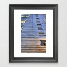 Highline Architecture Framed Art Print