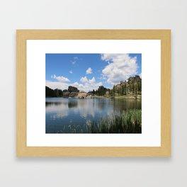 Sylvan Lake in the Black Hills Framed Art Print