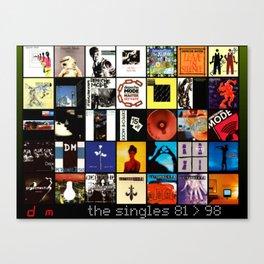 Depeche Canvas Print