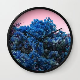 Lucid Summer Wall Clock