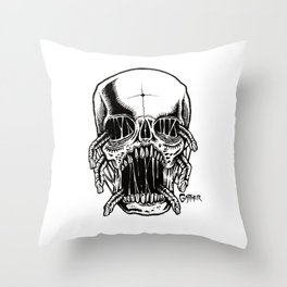 Six Shooter Throw Pillow
